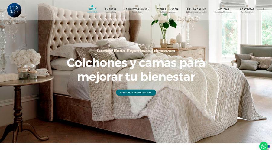 luxson.es - colchones y camas