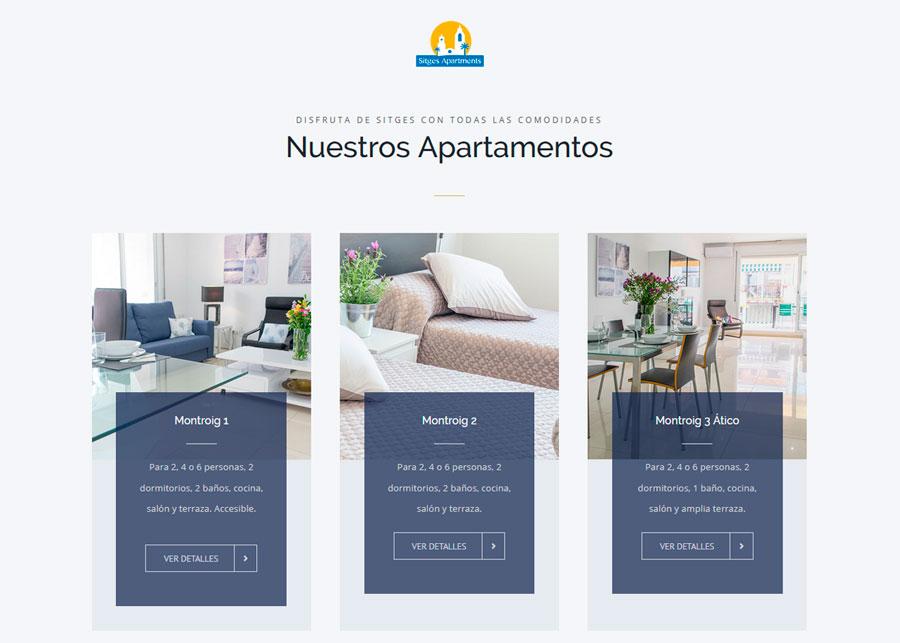 Sitges Apartments - Alquiler de apartamentos en Sitges - Barcelona - España