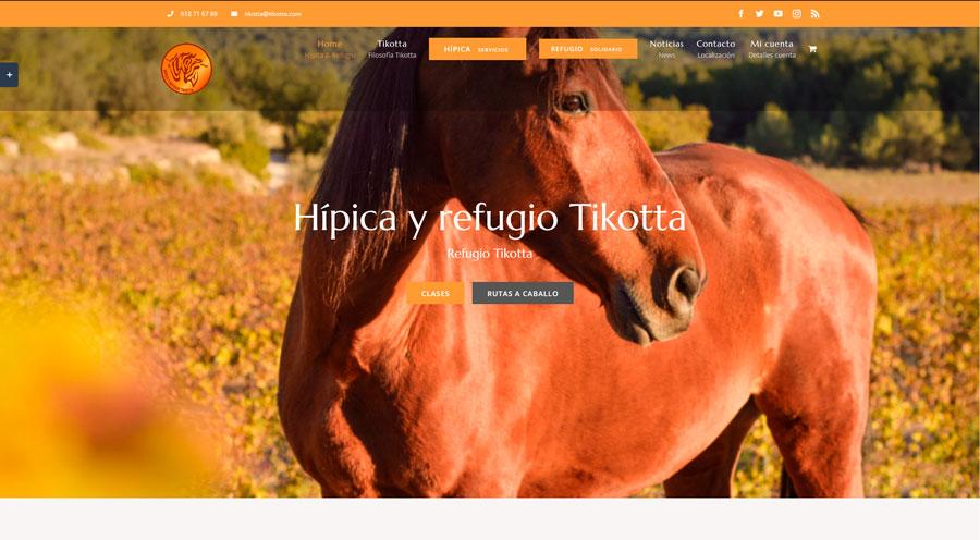 Hípica y refugio Tikotta - tikotta.com