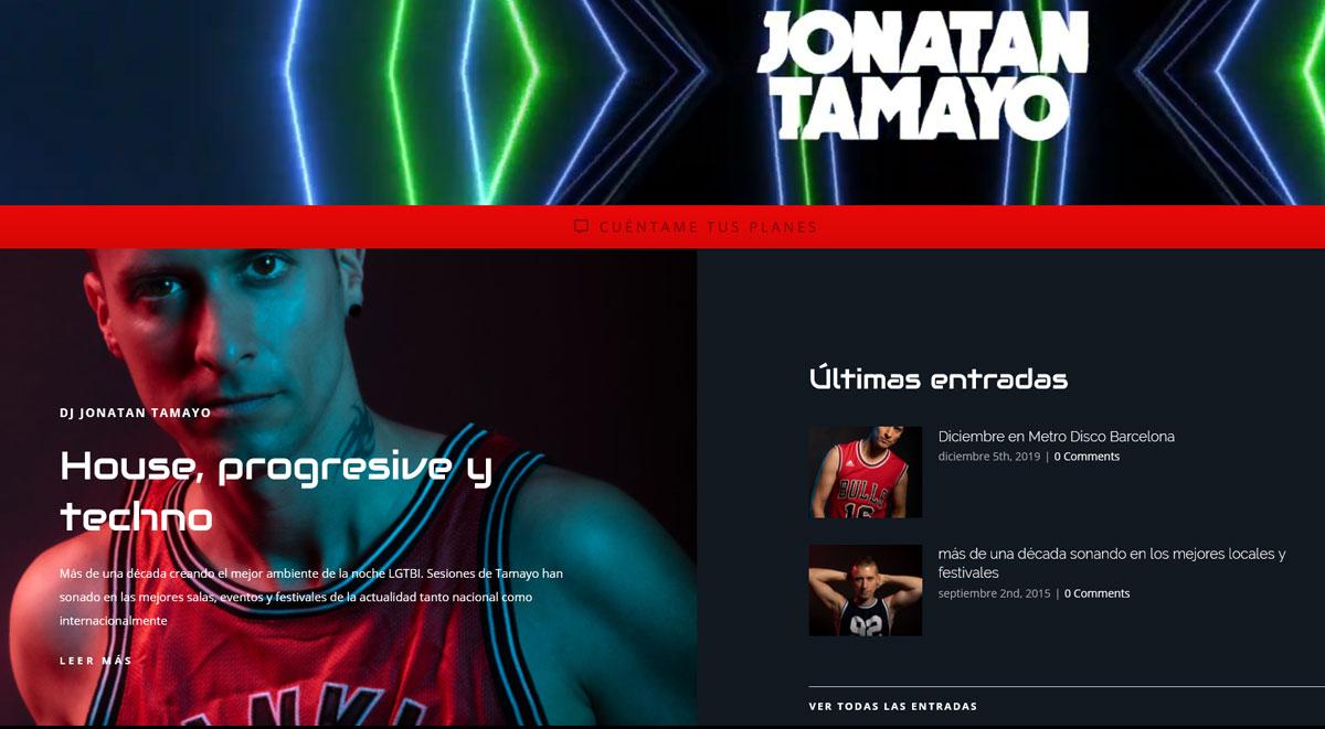 jonatantamayo.com - DJ Jonatan Tamayo - Barcelona