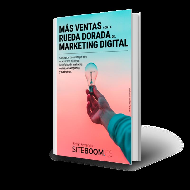 ebook «Más Ventas Con La Rueda Del Marketing Digital» Conceptos de estrategia para explorar los máximos beneficios del marketing onlinepara empresas y autónomos