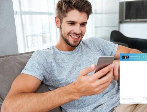 Más cerca de tus clientes con un chat en vivo en tu página web